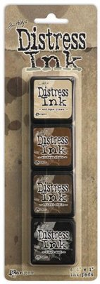 Tim Holtz Distress Mini Ink Kits - Kit 3