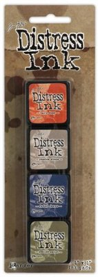 Tim Holtz Distress Mini Ink Kits - Kit 5
