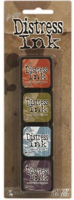 Tim Holtz Distress Mini Ink Kits - Kit 8