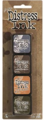 Tim Holtz Distress Mini Ink Kits - Kit 9