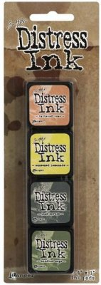 Tim Holtz Distress Mini Ink Kits - Kit 10