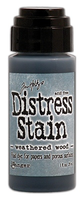 Ranger Tim Holtz Distress Stain - Weathered Wood