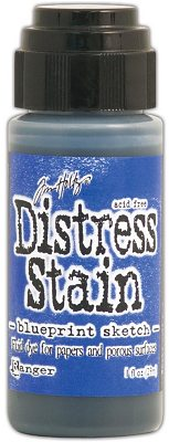 Ranger Tim Holtz Distress Stain - Blueprint Sketch