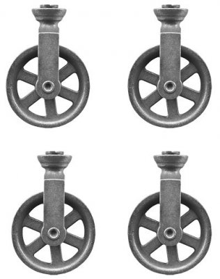 Tim Holtz Idea-ology Collection - Pulley Wheels