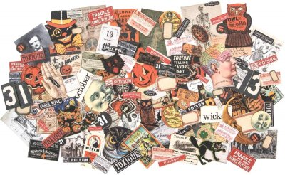 Tim Holtz Idea-ology Ephemera Pack - Halloween Snippets