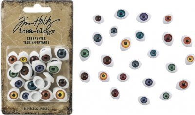 Tim Holtz Idea-ology - Creepy Eyes