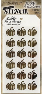 Tim Holtz Layered Stencil - Pumpkins