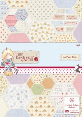 Docrafts A5 Paper Pack - Tilly Daydream (32 sheets)