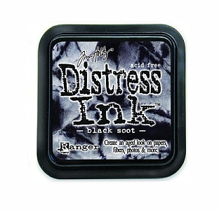 Tim Holtz - Black Soot Distress Ink Pad