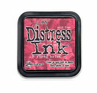 Tim Holtz - Fired Brick Distress Ink Pad
