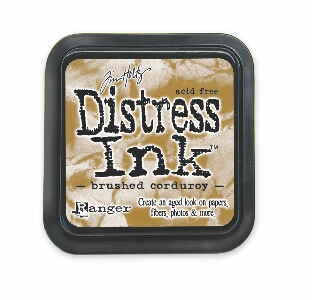 Tim Holtz - Brushed Corduroy Distress Ink Pad
