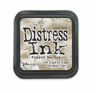 Tim Holtz - Frayed Burlap Distress Ink Pad