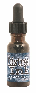 Tim Holtz - Faded Jeans Distress Ink Reinker Refill