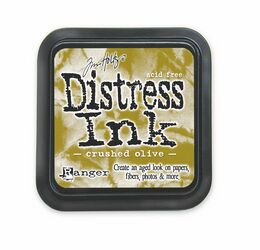 Tim Holtz - Crushed Olive Distress Ink Pad