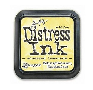 Tim Holtz - Squeezed Lemonade Distress Ink Pad