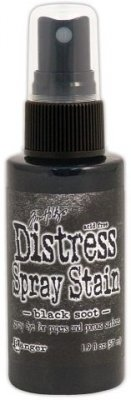 Tim Holtz Distress Spray Stain - Black Soot