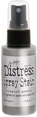 Tim Holtz Distress Spray Stain - Brushed Pewter