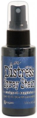 Tim Holtz Distress Spray Stain - Chipped Sapphire