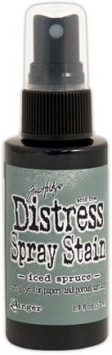 Tim Holtz Distress Spray Stain - Iced Spruce