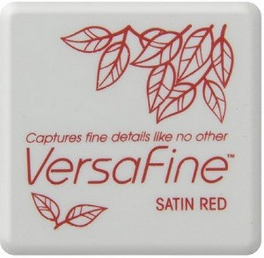 VersaFine Pigment Small Ink Pad - Satin Red