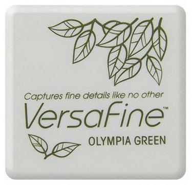 VersaFine Pigment Small Ink Pad - Olympia Green