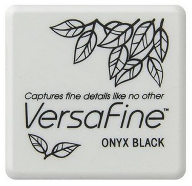VersaFine Pigment Small Ink Pad - Onyx Black