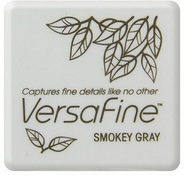 VersaFine Pigment Small Ink Pad - Smokey Grey
