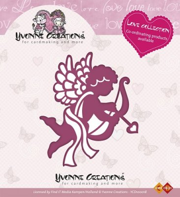 Yvonne Creations Dies - Love Collection Cupido