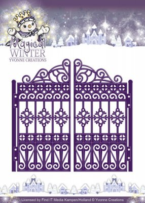 Yvonne Creations Dies - Magical Winter Gate