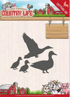 Yvonne Creations Dies - Country Life Ducks