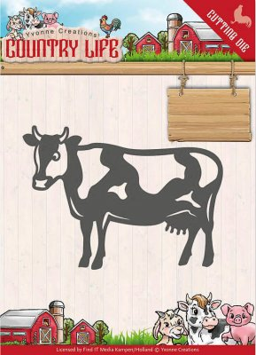 Yvonne Creations Dies - Country Life Cow